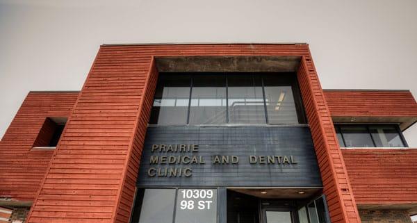 Grande Prairie Medical and Dental Clinic Generations Dental front doors